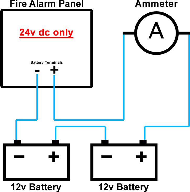fire alarm battery size calculator tool- grainger fire ... double schematic electrical wiring diagrams #11